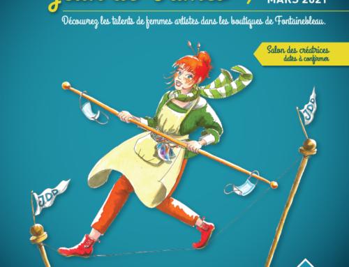 Jeux de dames, exposition collective du 6 au 28 mars 2021 – Fontainebleau 77