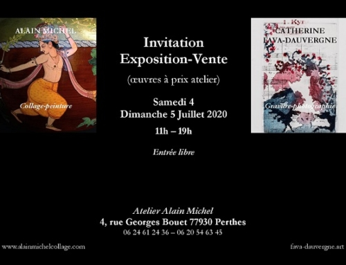 Exposition Gravures/Photographies,  4 & 5/07/20 – Perthes 77
